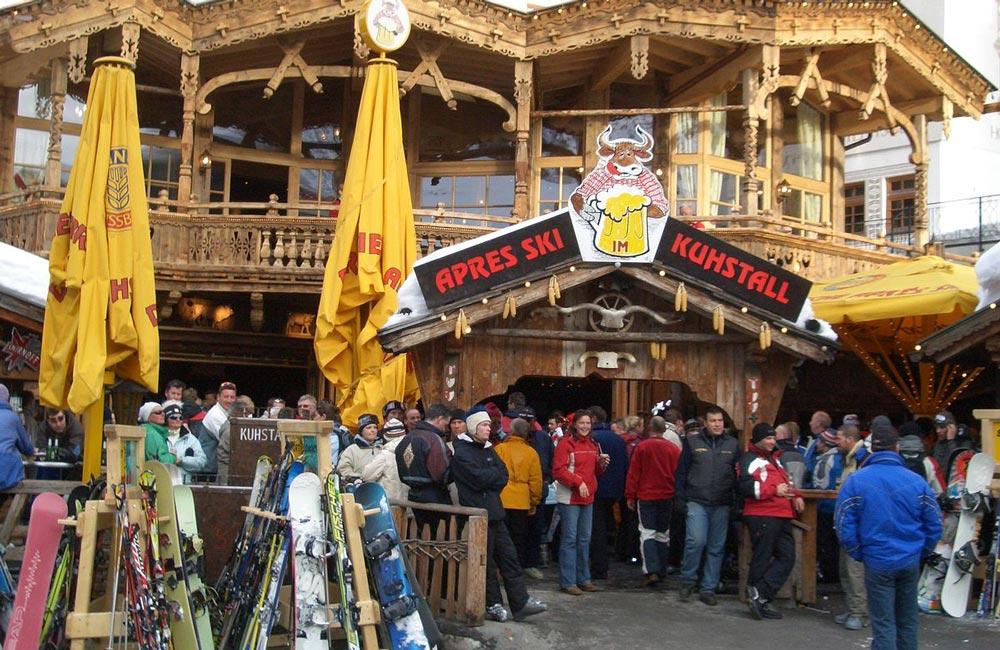 Ischgl Kuhstall Apres Ski Feiern