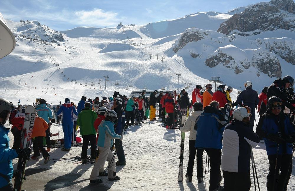 Ischgl Skilifte und Schnee